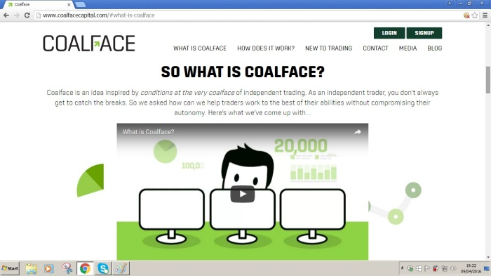 So what is Coalface