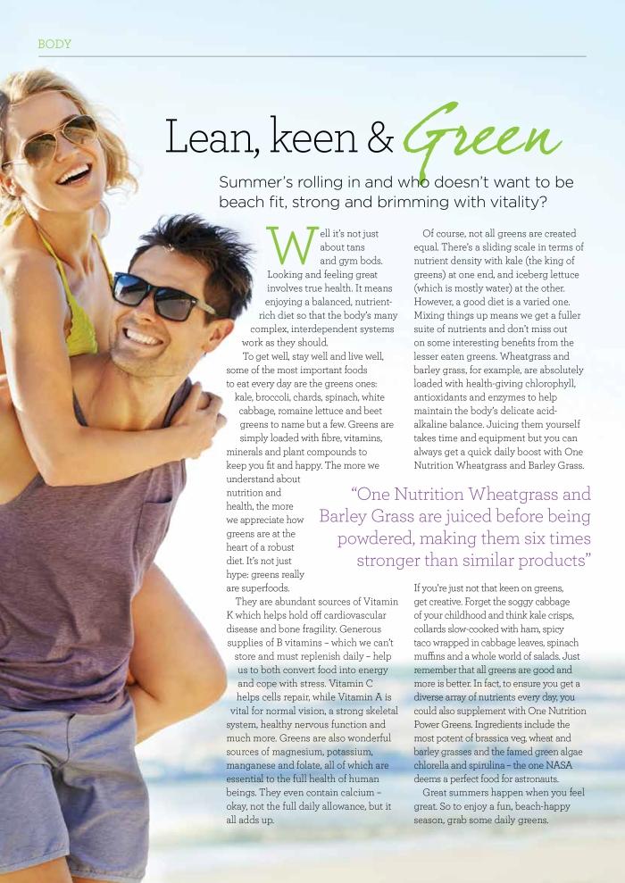 Natural Life May 16_Lean Mean Green