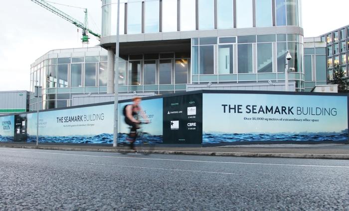 Seamark building HOARDING